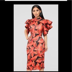 Fashion Nova Tropical Dre…